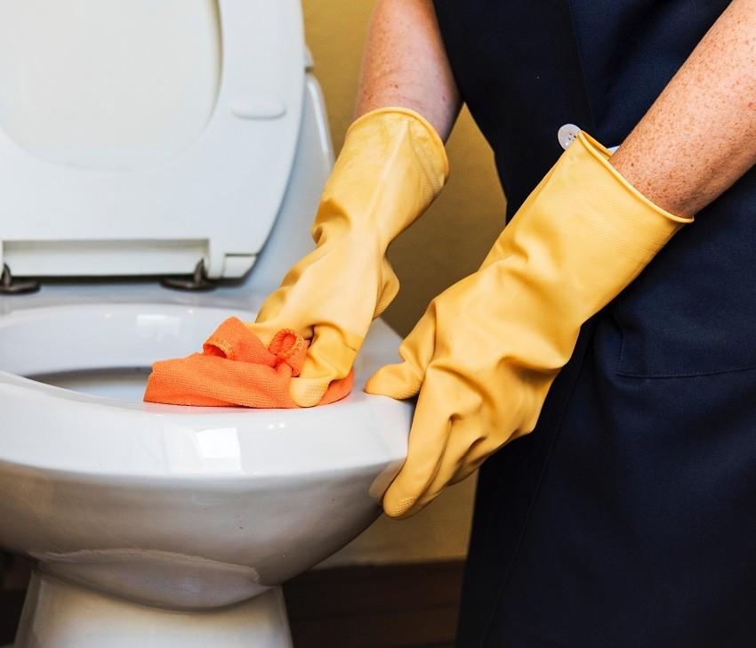 mycie toalety