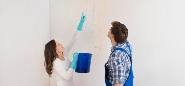 Wielkie sprzątanie po zalaniu mieszkania